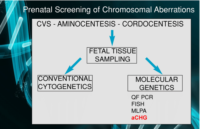 Prenatal Screening of Chromosomal Aberrations
